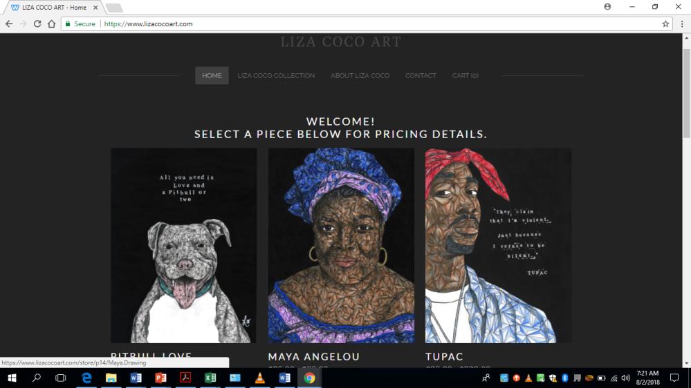 Liza Coco Site Pic